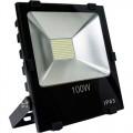 Светодиодный прожектор LEEK LE FL SMD LED3 100W CW IP65 холодный белый, черный