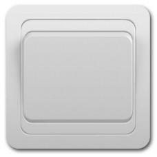 Выключатель 1-клавишный, скрытой проводки ВАЛЕРИ 10А 220в, белый В0021