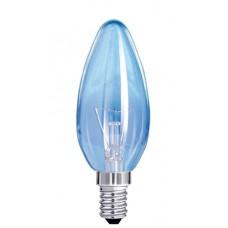 Лампа накаливания декоративная  ДС 40Вт. Е14 инд.упаковка свеча прозрачная Белсвет
